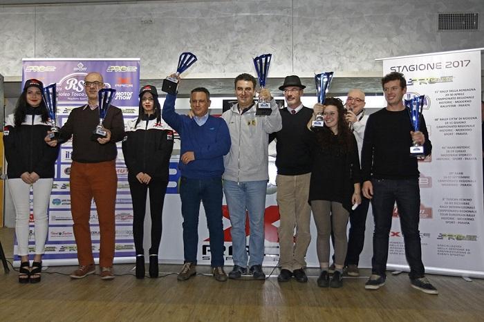 Premiati i partecipanti al Trofeo Tosco Emiliano al Motor Show.
