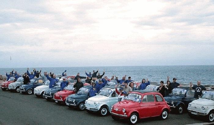 Partono dall'Australia i festeggiamenti per i 60 anni di Fiat 500.