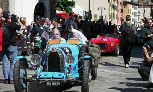 Mille Miglia 2017: al via 440 auto d'epoca.