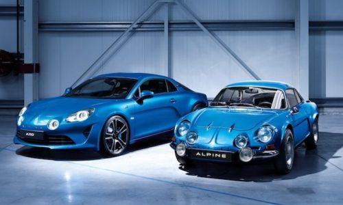 A Ginevra il ritorno della Alpine con la coupé A110