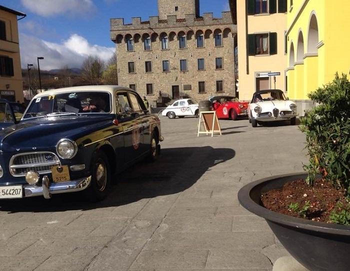 Fortin e Pilè su Fiat 600 sbancano la Rievocazione GP del Mugello