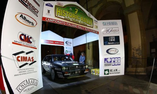 7° Historic Rally Vallate Aretine: dominano Lucky e Pons.