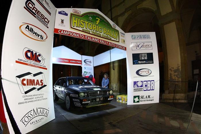 7° Historic Rally Vallate Aretine: dominano Lucky e Pons.