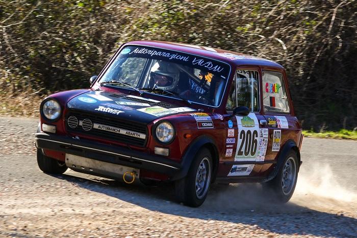 Trofeo A112 Abarth Yokohama: Cochis conquista la prima gara.
