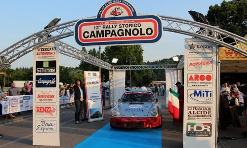 A fine maggio il 13° Rally Campagnolo.