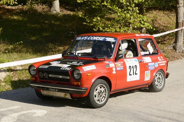 Trofeo A112 Abarth 2017: divertimento assicurato al Valsugana.