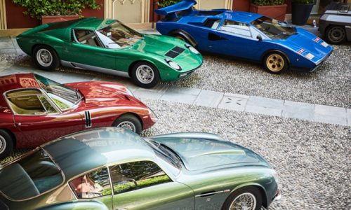 Al concorso d'eleganza di Villa d'Este auto da sogno.