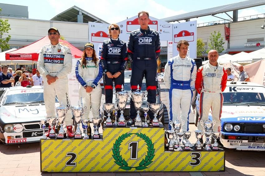 7° Rally Lana Storico: Lucky e Pons vittoriosi.