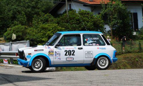 Trofeo A112 Abarth Yokohama: la prima di Scalabrin al Lana.