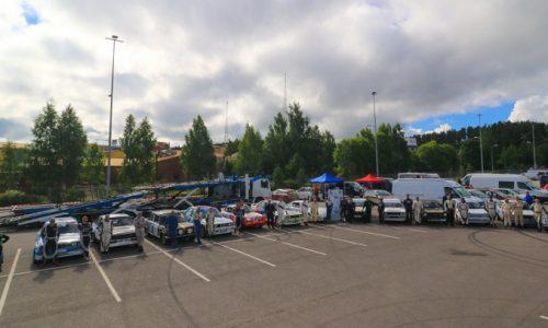 Team Bassano di ritorno dal Lahti Historic Rally.