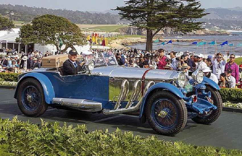 A Concorso Peeble Beach vince la Mercedes-Benz S Tourer 1929.