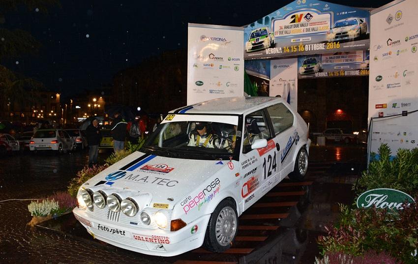 La Rally Due Valli Arena sarà la grande novità del rally Due Valli 2017.