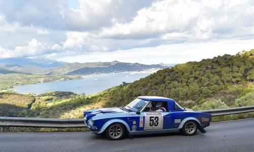 In 132 equipaggi si sfideranno al Rallye Elba Storico.