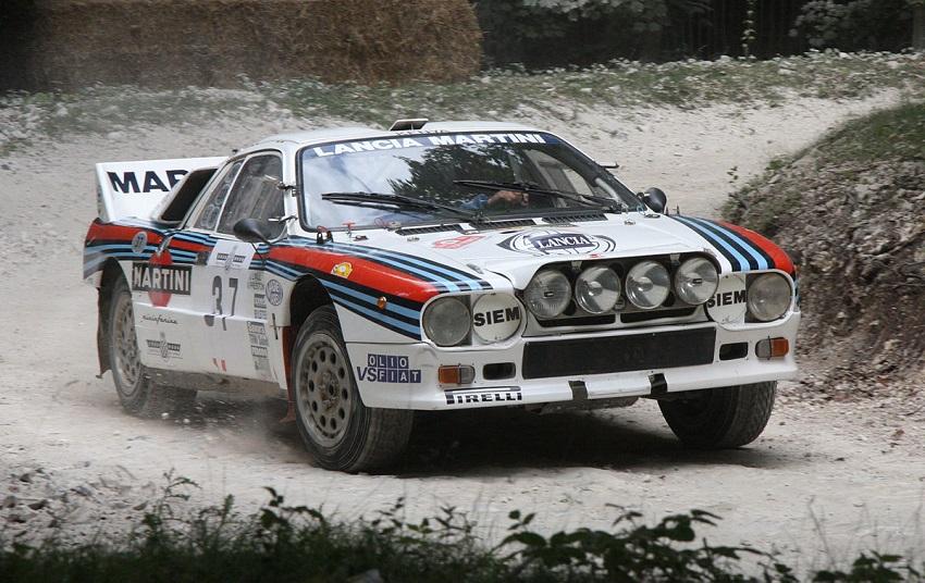 Un libro sulla Lancia 037.