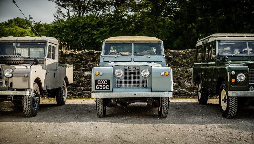 Land Rover celebra 70 anni ad Automotoretrò.
