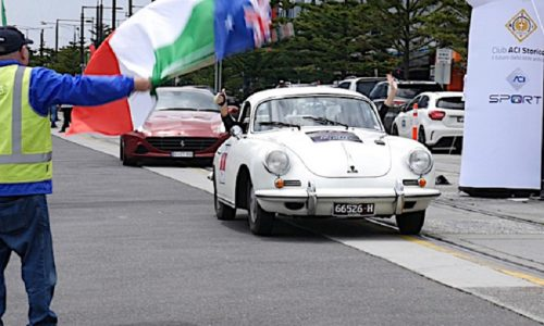 Mozzi – Biacca si aggiudicano l'edizione Australiana della Targa Florio.