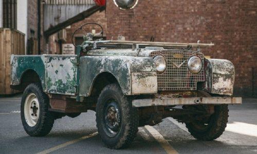 Per 70 anni Land Rover, via al restauro della vettura numero uno.