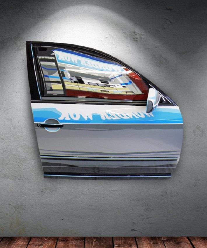 L'arte automobilistica di Joel Clark.