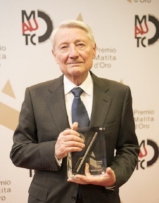 """Assegnato il premio """"Matita d'oro 2017""""."""