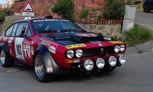 All'8° Historic Rally Vallate Aretine oltre ottanta equipaggi.
