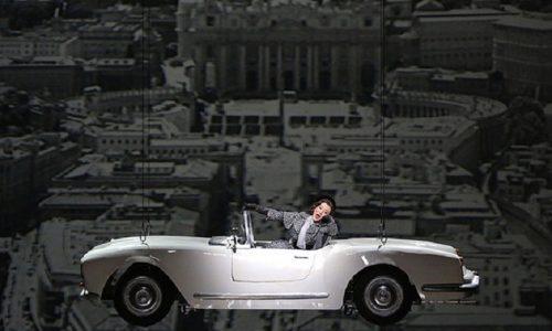Lancia Aurelia B24 de 'Il Sorpasso' protagonista alla Scala.