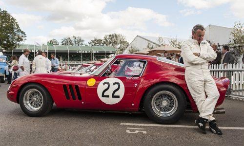 La Ferrari 250 GTO di Nick Mason, e una Maserati T61 Birdcage l'eleganza italiana ad un concorso inglese.