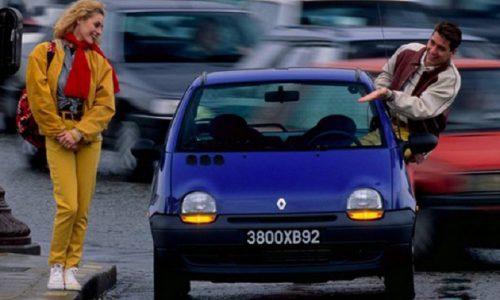 Renault Twingo, rivoluzionaria city car presentata 25 anni fa.