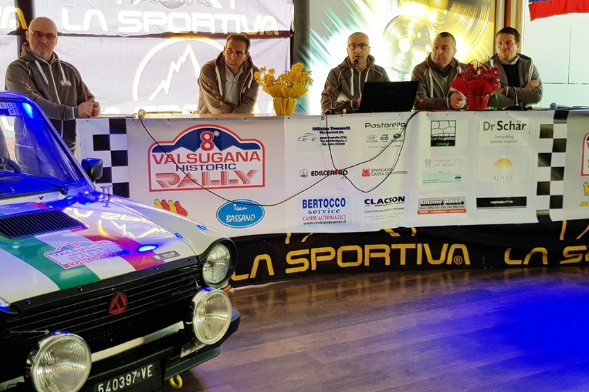 Presentato l'8° Valsugana Historic Rally.