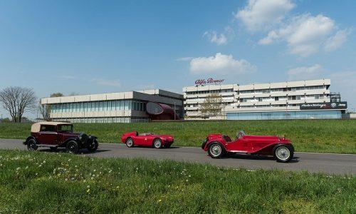 Alfa Romeo alla Mille Miglia 2018: la leggenda di Arese continua a far sognare.