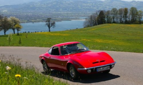 Opel, al Bodensee Klassik si celebrano i 50 anni di GT