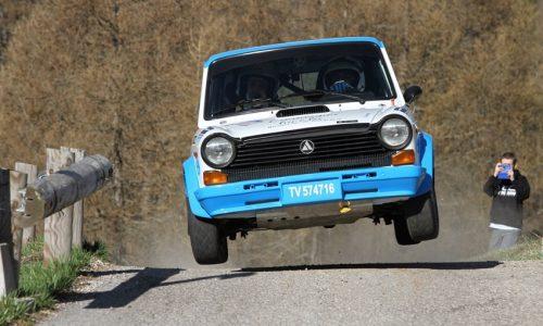 Scalabrin, nel Trofeo A112, vola al Valsugana Historic Rally