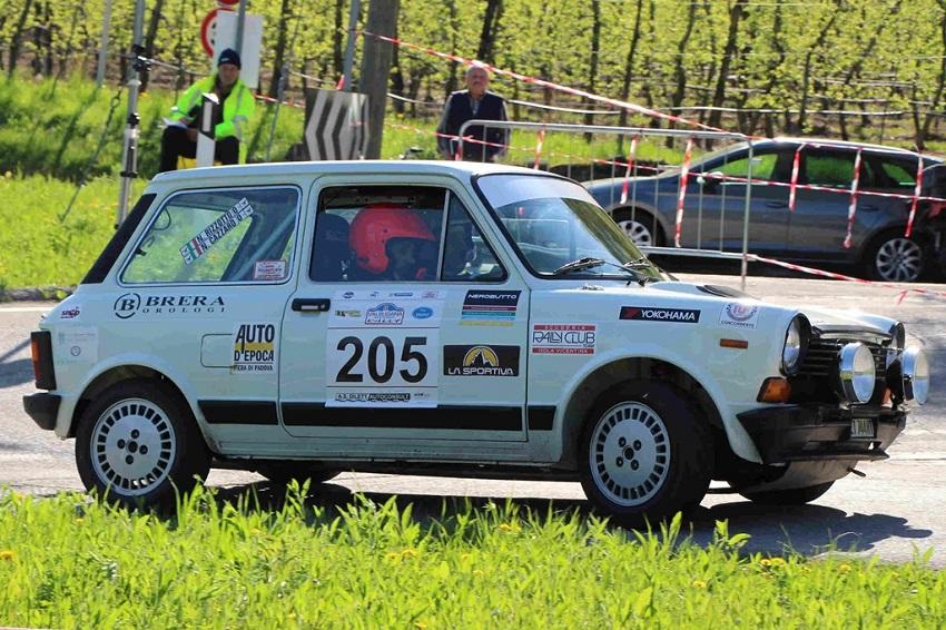 Trofeo A112 Abarth Yokohama: 22 al Rally Campagnolo.