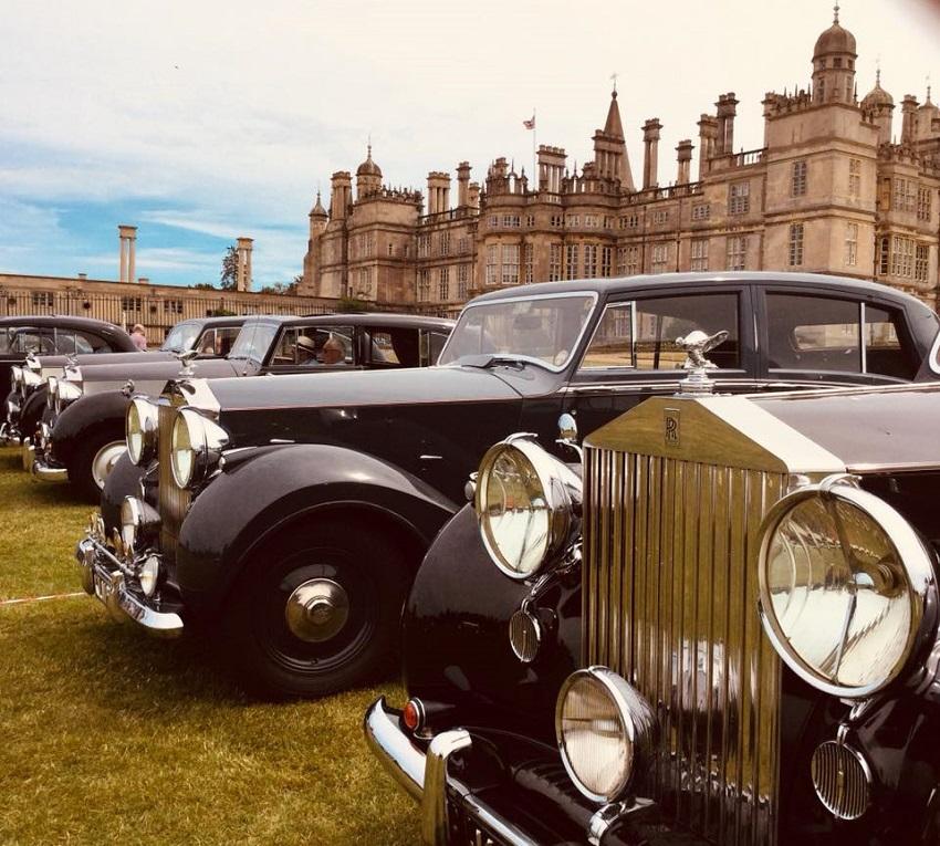 Mille auto al più grande raduno al mondo di Rolls-Royce.