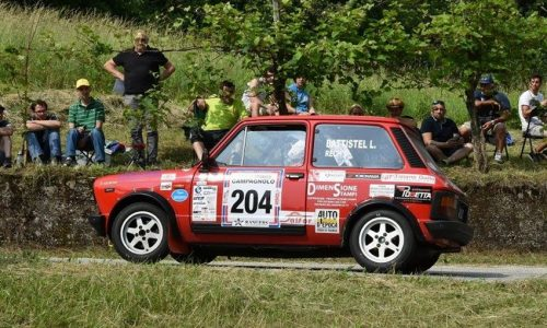 Trofeo A112 Abarth Yokohama: Battistel bis al Rally Campagnolo.