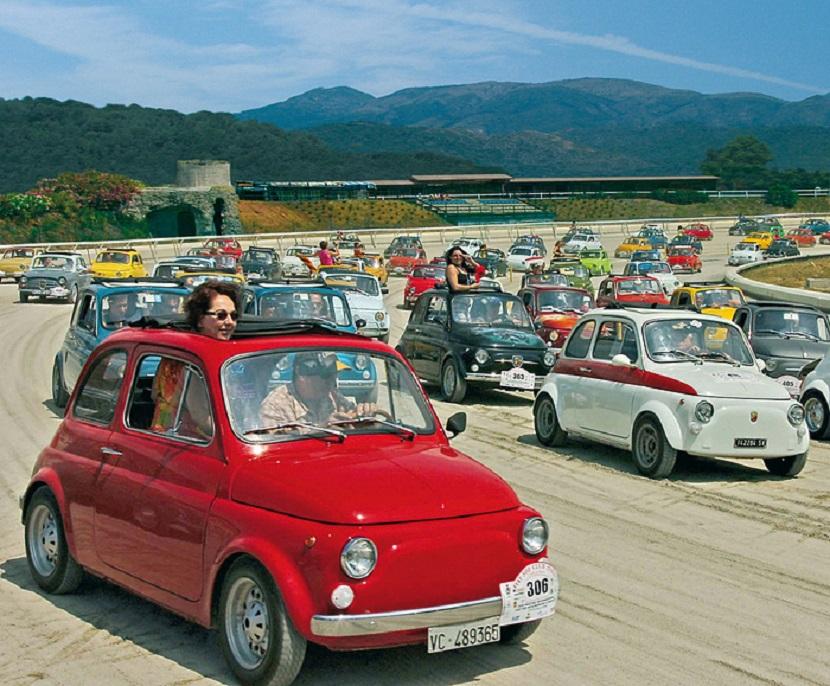 Fiat 500, tutto pronto per il 35esimo meeting di Garlenda
