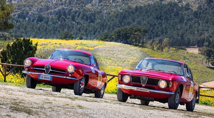 La presenza Alfa Romeo alla Cesana-Sestriere 2018.