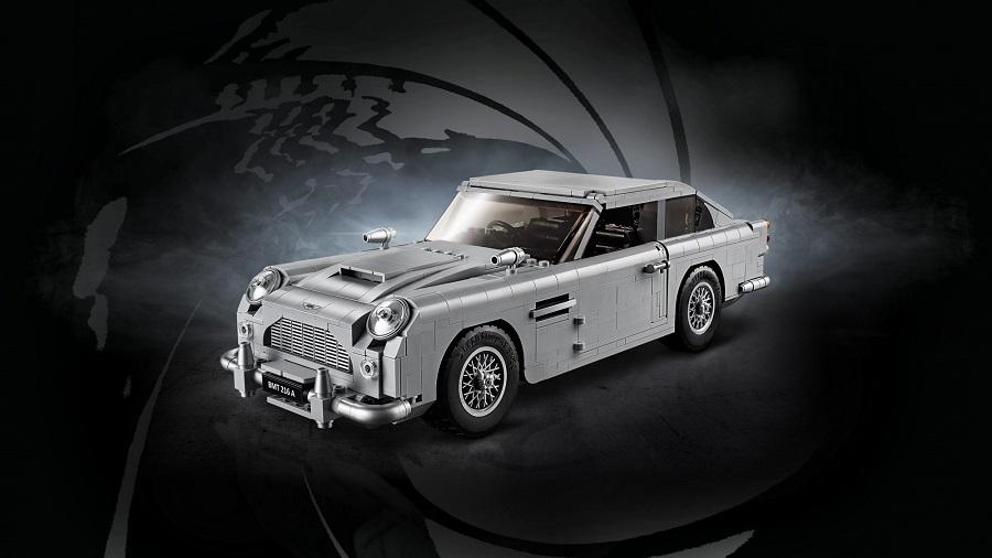 Lego lancia l'Aston Martin di James Bond in mattoncini