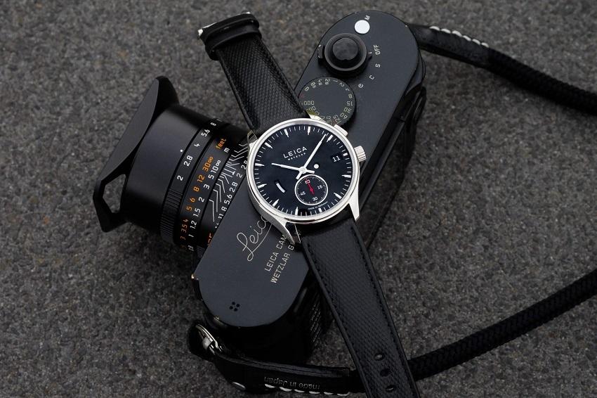 Leica entra nel mondo dell'orologeria, ed in più collabora con Zagato.
