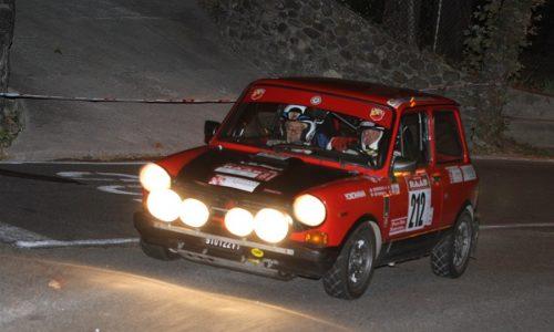 14 piccole A112 Abarth del Trofeo al R.A.A.B.