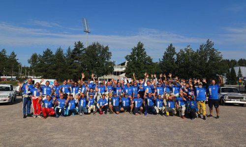 Team Bassano di ritorno dal Lahti Historic Rally