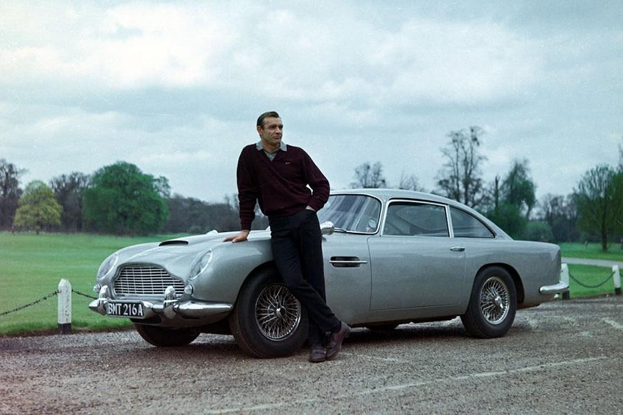 Ritrovata l'Aston Martin Db5 di James Bond.
