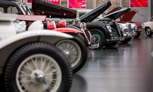 """Cofani aperti"" al Museo Storico Alfa Romeo"