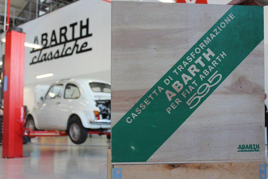 Le vetture Abarth di FCA Heritage partecipano alla Targa Florio.