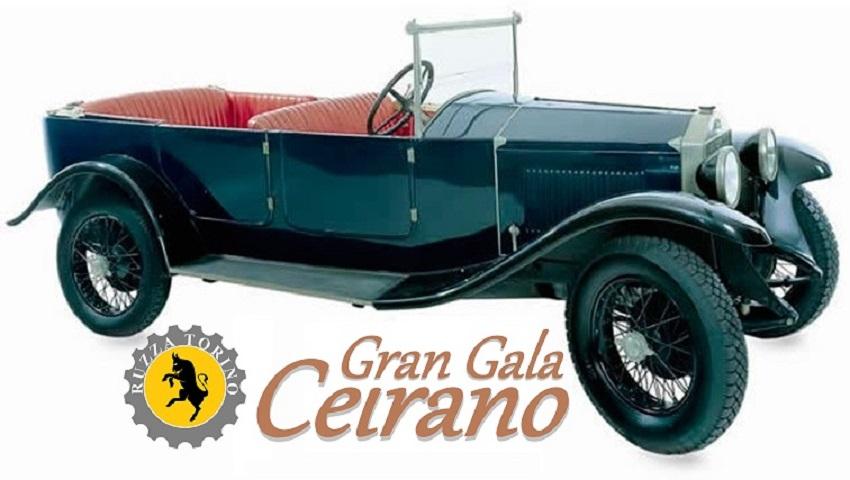Le origini del motorismo torinese ed Italiano al Gran Gala Ceirano.