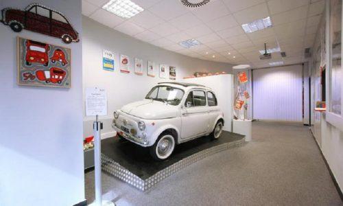 Record di visite al museo Fiat 500 di Garlenda.