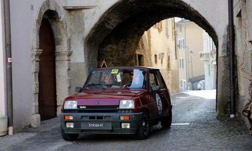 XVI Campagne e Cascine a Massimo Patron e Luca Casale su Renault 5.