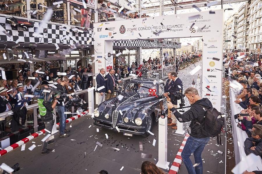 L'eleganza dell'Alfa Romeo viene riconosciuta in Belgio.