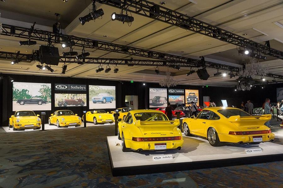 Porsche celebra i 70 anni con un'asta milionaria ad Atlanta.