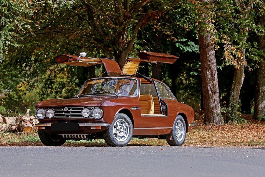 """Alfa Romeo Giulia """"gullwing""""?"""