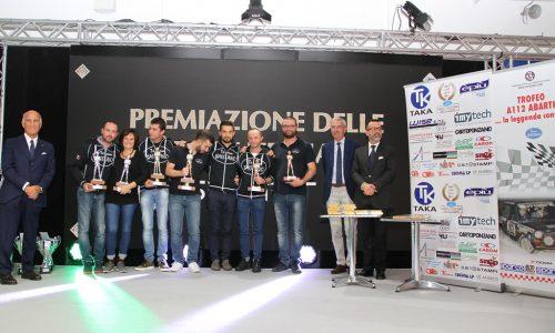 Premiati a Padova i protagonisti del Trofeo A112 Abarth Yokohama